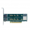 Squid PCI Express Gen 2 Carrier Board With 4 PCIe SSD